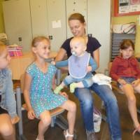 baby Andreas op bezoek