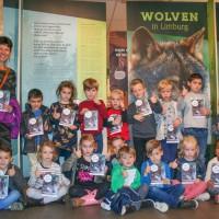 """Bezoek aan  de tentoonstelling: """"wolven in Limburg""""."""