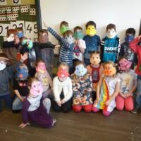 carnaval in de school