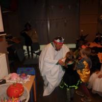 Halloween bij onze kleuters