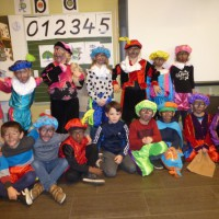Sinterklaasfeest in de GBS