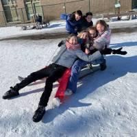 Sneeuwpret en zandbakplezier
